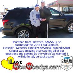 Woody's Automotive Group offers a large selection of new and used vehicles for sale in Chillicothe, near Kansas City, MO. #wowwoodys #carshopping #fordexplorer