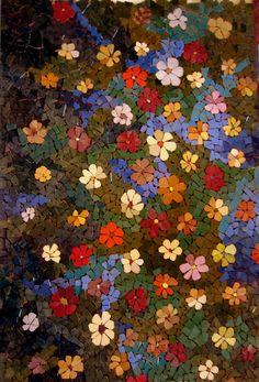 Garden of mosaic! #mosaic #art