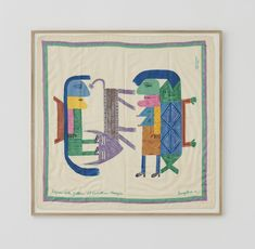 Victor Brauner Silk Foulard  – hellethygesen.com