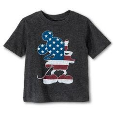 Toddler Boys' Mickey Mouse™ T-Shirt - Charcoal Heather