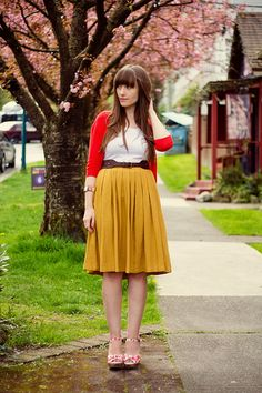 Girl and Closet: Look Book: Bright & Pretty Spring Colours!!