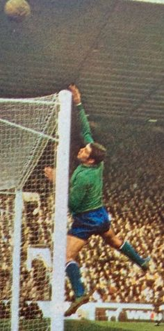 Leicester City goalkeeper Peter Shilton in 1969.
