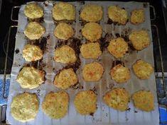 Nuggets de coliflor al horno (BLW) Receta de Ana Cocinela - Cookpad Muffin, Breakfast, Food, Baked Cauliflower, Vegetables, Food Processor, Food Cakes, Morning Coffee, Eten