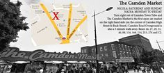 Image of Camden Map super jupes Nicola Quilter