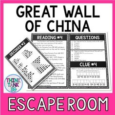 Famous Failures Escape Room Activity - Think Tank Teacher Reading Levels, Reading Skills, Reading Passages, Reading Comprehension, Comprehension Activities, Halloween Around The World, 4th Grade Science, Fourth Grade, Third Grade