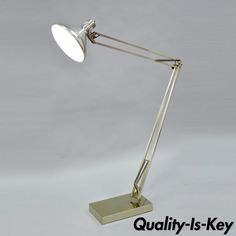 Vtg Alsy The Grasshopper Mid Century Modern Adjustable Chrome Floor Task Lamp Chrome, Decor, Task Lamps, Lamp, Modern Lighting, Flooring, Mid Century Modern Lighting, Task Floor Lamp, Modern