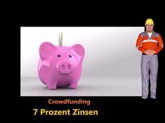Crowdinvesting:    Verzinsung: 7 Prozent-Darlehens-Laufzeit:18 Mo... Piggy Bank, Blog, Projects, Money Box, Money Bank, Blogging, Savings Jar