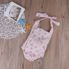 >> Click to Buy << 2017 Newborn Infant Baby Girl Clothes Summer Sleevless Halter Pink Floral Back Bow Romper Jumpsuit Baby Outfits Sunsuit Clothes #Affiliate