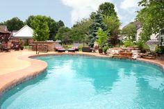 Beautiful Pool built by Backyard Dreams Pools & Spas!!