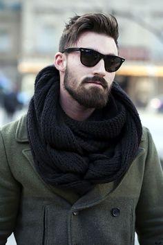 Cute Short and Full Beard Styles for Men (5)