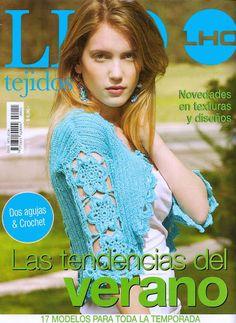 LHO Tejidos 11 - Melina Tejidos - Веб-альбомы Picasa Knitting Books, Crochet Books, Thread Crochet, Loom Knitting, Crochet Stitches, Crochet Patterns, Crochet Lace Edging, Love Crochet, Knit Crochet