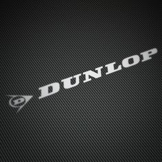 Car and Motorbike Stickers: Dunlop