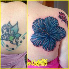 Cover perfecto ! Hibiscus & mariposa