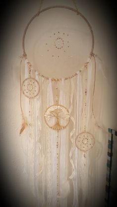 Tree Of Life Dream Catcher Wall by PrettyThingz4UByMe on Etsy