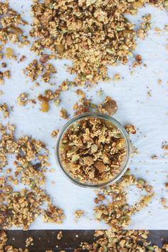 Millet + Cardamon Sweet Potato Granola