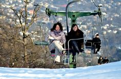 """Flying chairs above Budapest – the """"Libegő"""" (Flutter) The Chair Lift (""""Libegő"""" literally """"flutter"""") is the one of the most interesting sights of the hills of Buda. Budapest, Fun, Lol, Funny"""