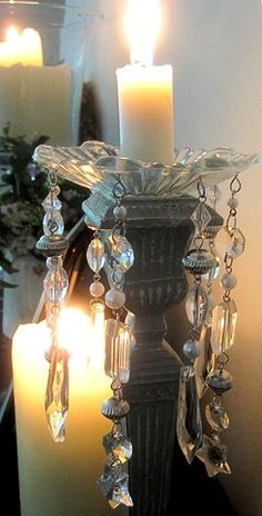 Candles and Crystals!❊**Happy New Year**❊ ~ ❤✿❤ ♫ ♥ X ღɱɧღ ❤ ~ Fr 2nd Jan 2015