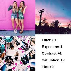 Very summery feed Tips/use photos with pink In it Free filter!