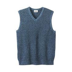 Kingsize Men's Big Tall Shaker Weave V-Neck Sweater Vest ❤ liked on Polyvore featuring men's fashion, men's clothing, men's sweaters, mens sweaters, big & tall men's sweaters, men's v neck sweater, mens big and tall sweaters and mens vneck sweater