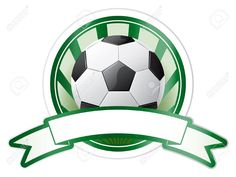 Soccer Emblem Royalty Free Cliparts, Vectors, And Stock . Baseball Party, Soccer Party, Soccer Games, Soccer Ball, Football Field, Football Cleats, Football Team, Soccer Birthday Parties, Football Birthday