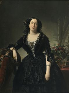 María Dolores de Aldama y Alfonso, marquesa de Montelo by Federico de Madrazo y Kuntz