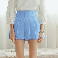 6b57406cc1 American School Style Fashion Women elegant half Pleated mini Skirts high  waist casual girls skirts women leggings skirt
