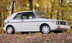Classic Car News Pics And Videos From Around The World Volkswagen Golf Cabriolet, Golf 1 Cabriolet, Vw Golf Cabrio, Vw Mk1, Car Volkswagen, My Dream Car, Dream Cars, Convertible, Vw Parts