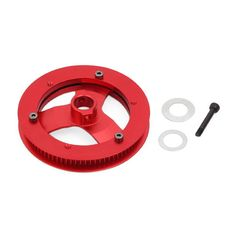 ALZRC Devil 420 FAST RC Helicopter Parts Front Tail Pulley 80T  ALZRC Devil 420 FAST RC Helicopter Parts Front Tail Pulley 80T Description: T6061-T Aluminum CNC Maching. For ALZRC Devil 380 upgrade to ALZRC Devil 420. Compatible Devil 420 FAST. Packaging: Front Tail Pulley x 1 Socket Button Head Screw(M2x8mm) x 3 Socket Collar Screw(M2.5x16mm) x 1 Washer(8x12x0.1mm) x 1 Washer(8x14x0.2mm) x 1  EUR 11.16  Meer informatie