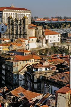Miradouro da Vitória: Porto's Best Viewpoint - by Gail at Large, Image Legacy… Visit Portugal, Spain And Portugal, Portugal Travel, World Cities, Best Cities, Portuguese Culture, Douro, Famous Places, World Heritage Sites
