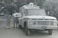 Camión de Helados TÍO RICO años 60 Venezuela.