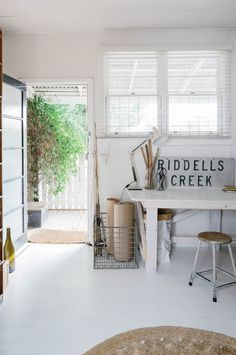 A move to the Macedon Ranges proves a natural fit for a couple looking to return to their roots. They were looking for a Victorian cottage with character, and the pair already had an idea about how they'd like to style the interior: with vintage pieces, op-shop finds and items found at local markets.