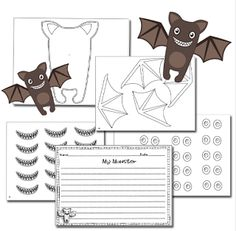 Monster Writing Craftivities