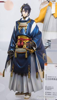 Touken Ranbu - Online - Mikazuki Munechika - 1/8 (Good Smile Company, Orange Rouge) Character Costumes, Character Art, Touken Ranbu Mikazuki, Anime Toys, Anime Figurines, Hyouka, Bishounen, Hot Anime Guys, Good Smile