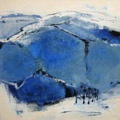 """Renate Migas, """"Seelenwanderung"""" (2) Mit einem Klick auf 'Als Kunstkarte versenden' versenden Sie kostenlos dieses Werk Ihren Freunden und Bekannten."""