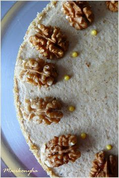 "Macikonyha: ""Baromira diós torta"" Walnut Cake, Nom Nom, Pancakes, Oatmeal, Dessert Recipes, Breakfast, Dios, Food Cakes, The Oatmeal"