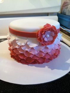 Lindsey would love this pretty cake