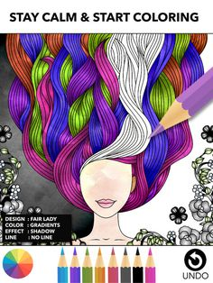 Color Therapy Free Adult Coloring Book for Adults by Miinu Limited