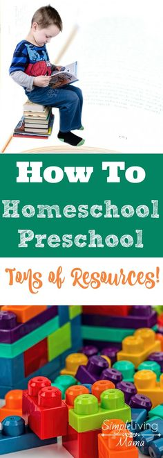 Are you thinking about homeschooling your preschooler? Here you will find tons and tons of resources to help you teach your preschooler at home!