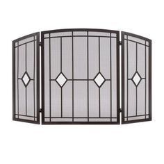 Visit the Home Depot to buy Pleasant Hearth Fireplace Screen Fireplace Screens, Fireplace Tools, Fireplace Hearth, Gas Fireplaces For Sale, Cool Fire Pits, Beverage Tub, Best Ceiling Fans, Fire Ring, Fire Pit Table