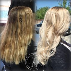 Butter Blonde Balayage by Jessica Reaves
