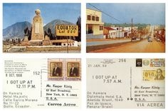 On Kawara was a Japanese-born conceptual artist whose practice was characterized by its meditative approach to concepts of time, space, and consciousness. Santiago Sierra, Picture Postcards, Some People Say, Quito, Get Up, Mail Art, Photos, Pictures, Art Education