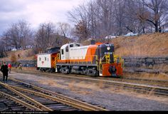 RailPictures.Net Photo: P&W 161 Providence and Worcester Railroad Alco RS-3 at Woonsocket, Rhode Island by Donald Haskel