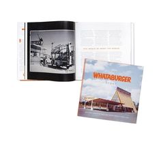 Whataburger Coffee Table Book. Over 60 years of rich history, tradition and fandom are captured in this 160-page hardback coffee table book. Limited copies available.  Price: $39.99 Coffee Table Books, Books To Read, History, Reading, Gifts, Fandom, Gift Ideas, Trail, Texas