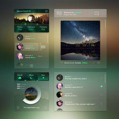 """"""" Skyshoot App """" by Steve Fraschini / Novagraphix - Full details on dribbble: http://drbl.in/iRhw"""