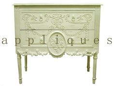 Great Resource To Have If You Repaint/Upcycle Furniture | List of resources and links to mold making supplies also recipes and tips for missing furniture pieces