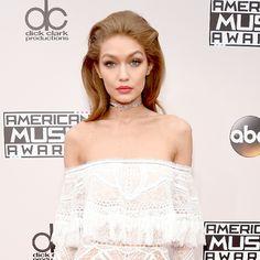 AMAS 2016 GIGI HADID | Gigi Hadid Reveals Her Pre-American Music Awards Hosting Rituals: Plus ...