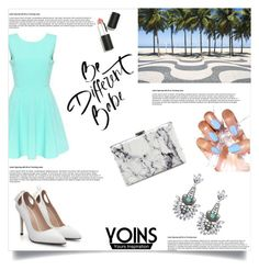 Pretty Lady Outside Look with Yoins by jasmina-fazlic on Polyvore featuring Balenciaga, Sigma Beauty and yoins