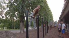 """3.8.""""Street Workout Motivation Vienna Austria""""Muscle up mit engem Unterg..."""