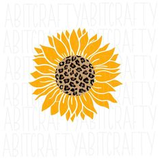 Sunflower Png, Sunflower Mandala, Sunflower Drawing, Sunflower Design, Stencil Patterns, Stencil Art, Vector Art, Cricut Tutorials, Cricut Ideas