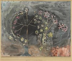 Paul Klee (1879-1940), Winter-Blumen (Winter Flowers), 1930 (11). Gouache laid on board. 33.3cm H x 41.9cm W.